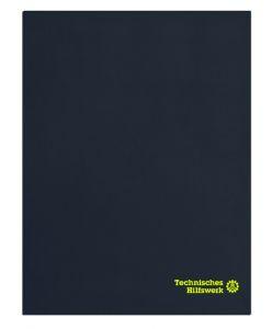 THW Fleecedecke mit besticktem Technisches Hilfswerk Logo, auf Wunsch mit OV