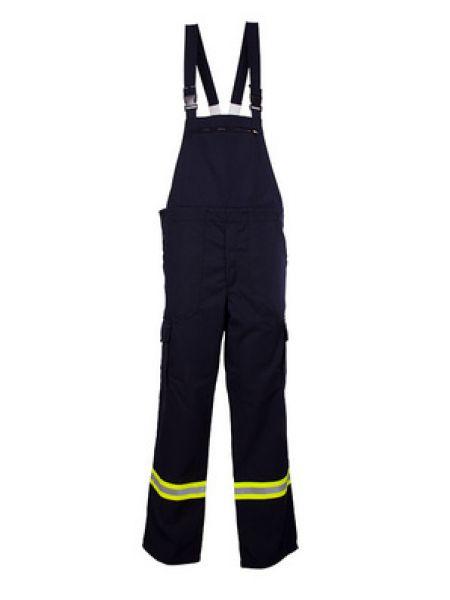 Feuerwehr Latzhose HuPF Teil 2 mit Reflexstreifen