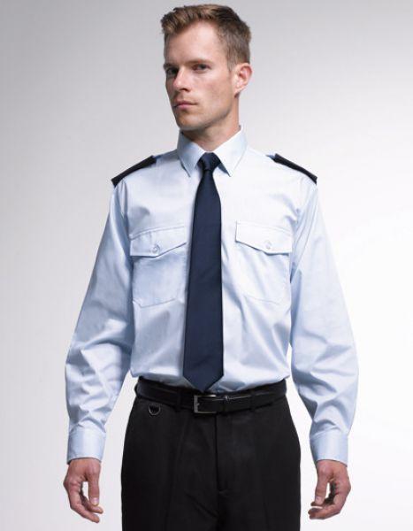 Feuerwehr Diensthemd langarm