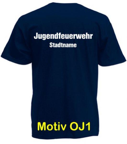 Jugendfeuerwehr T-Shirt Motiv OJ1