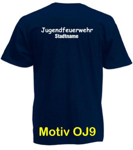 Jugendfeuerwehr T-Shirt Motiv OJ9
